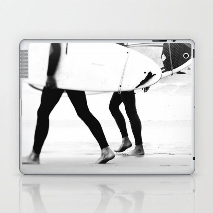 catch a wave Laptop & iPad Skin