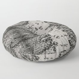 Snake Skin in Grey and Black Floor Pillow