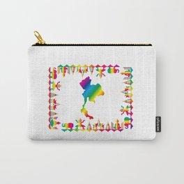 Rainbow Thailand Carry-All Pouch