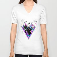 ruben V-neck T-shirts featuring Heart Of Glass - Kris Tate x Ruben Ireland by Ruben Ireland