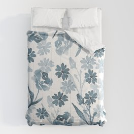 Paint it Blue Comforters