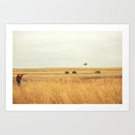 in my sight Art Print