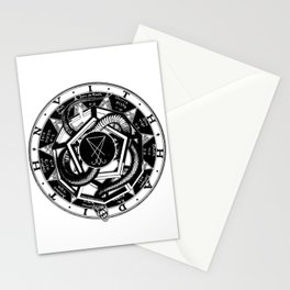 Twisted Snake Stationery Cards