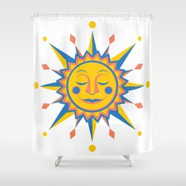 Summer's Joy Shower Curtain