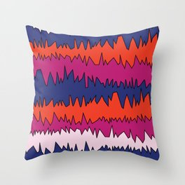 Hectic. Throw Pillow