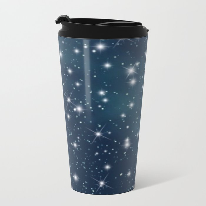 sky-183 Metal Travel Mug