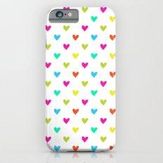 Love hearts Slim Case iPhone 6s
