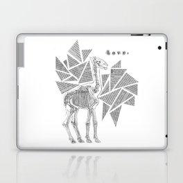 Skeletal Giraffe Laptop & iPad Skin