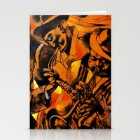 band Stationery Cards featuring band by borma toyen