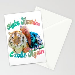 Make America Exotic Again Stationery Cards