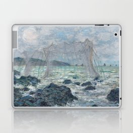 Fishing Nets at Pourville by Claude Monet Laptop & iPad Skin