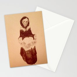 Death's pretty Stationery Cards