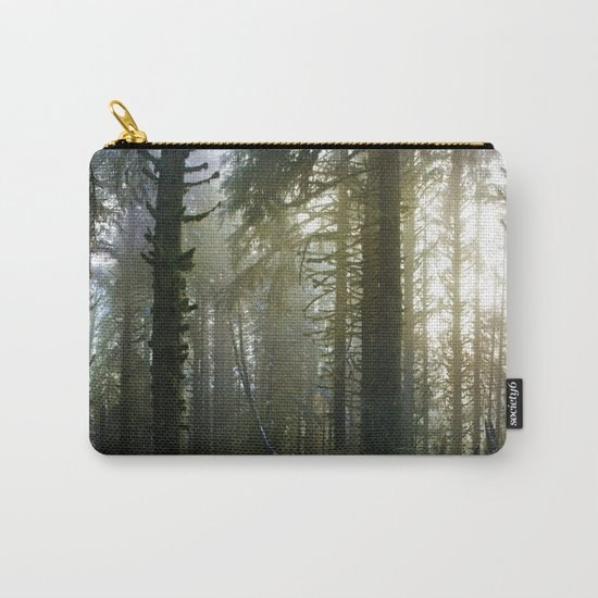 Foggy Forest #evergreen Carry-All Pouch