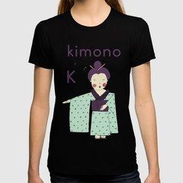 K is for Kimono T-shirt