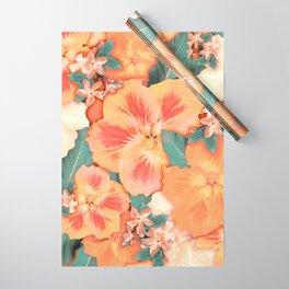 Aloha Orange Sherbet Wrapping Paper