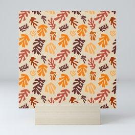 Seaweeds and earthy tones Mini Art Print