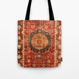 Seley 16th Century Antique Persian Carpet Print Tote Bag