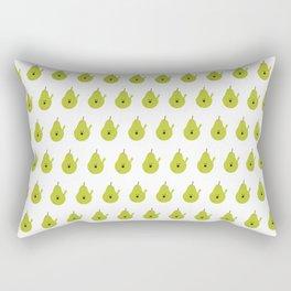 Vulgar Fruit: Profane Pear Rectangular Pillow