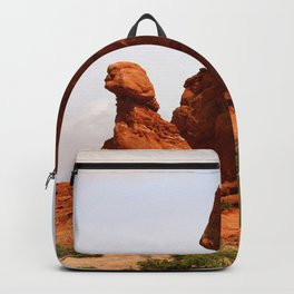 A Pictureque Rockformation Backpack