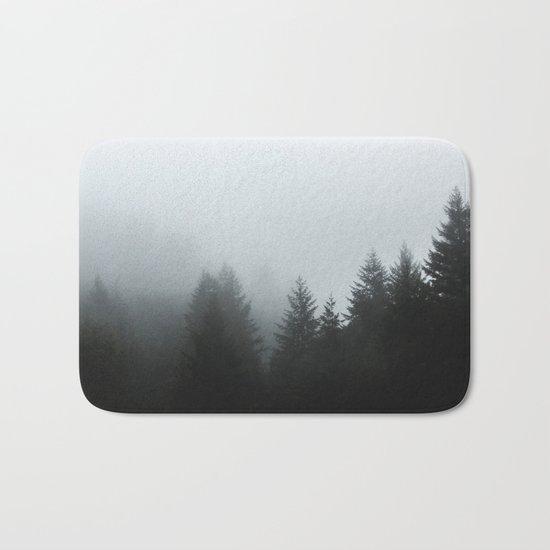 Dark forest mood Bath Mat
