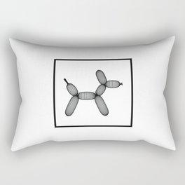Balloon Doggy Dogg Rectangular Pillow