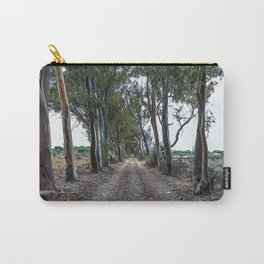 Dirt road in the countryside of southern Italy Carry-All Pouch