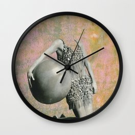 Queen of Camouflage12 Wall Clock