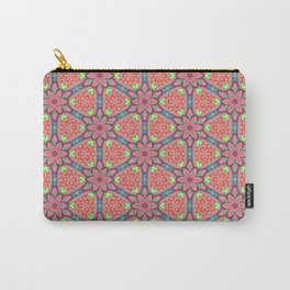 Origami Flowers, surface pattern Carry-All Pouch