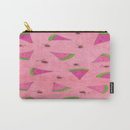 Watermelons and Lady Bugs Carry-All Pouch