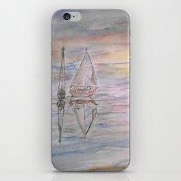 Calm Sunset iPhone Skin