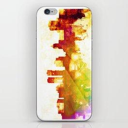 Peoria skyline iPhone Skin