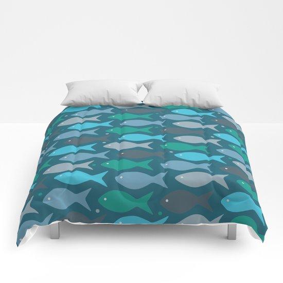 fish pattern  Comforters