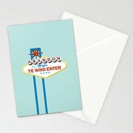 Sin City Stationery Cards