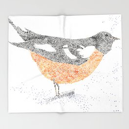 bird I Throw Blanket