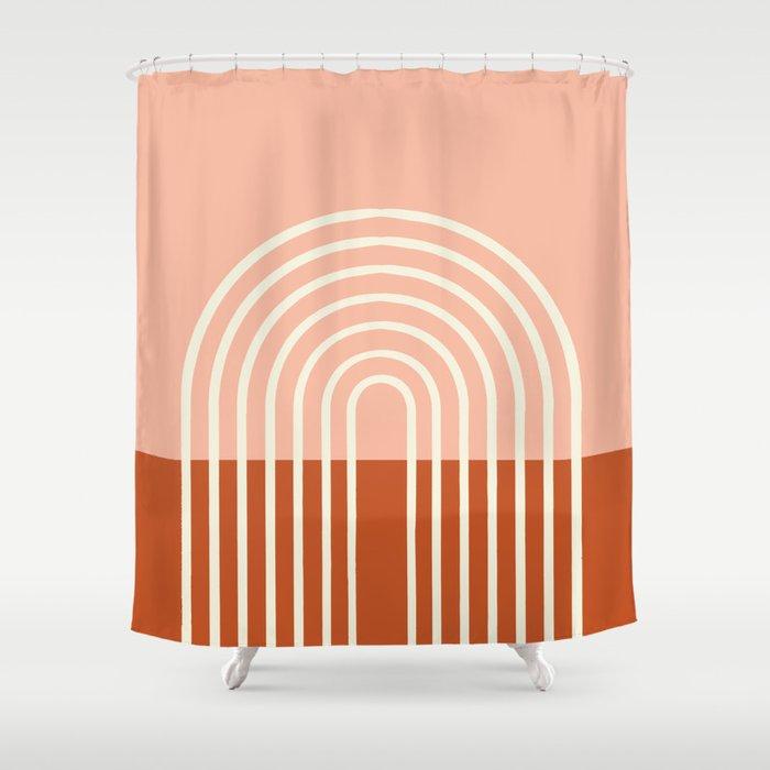 Terracota Pastel Shower Curtain