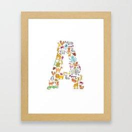 Animals: A Framed Art Print