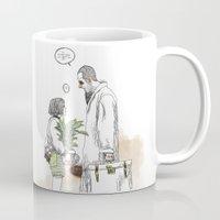 kim sy ok Mugs featuring OK?! by doFirlefanz