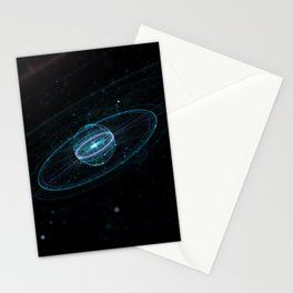 Space & Particles - GodEye 01 Stationery Cards
