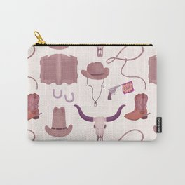 Cowboy Pattern Carry-All Pouch