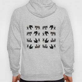 Dance of the Tapirs in red Hoody