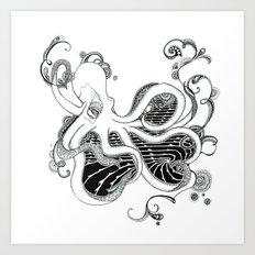 'Kraken' Art Print