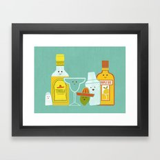 Margarita! Framed Art Print