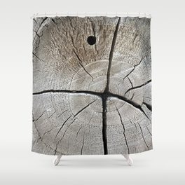 dry wood branch Shower Curtain