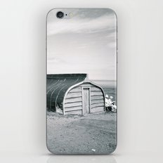 Holy Island Boat Sheds iPhone & iPod Skin