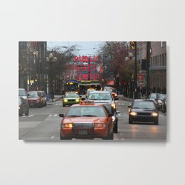 Pike Place Market Photography Print Metal Print