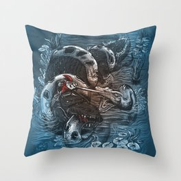 Marsh Madness  Throw Pillow
