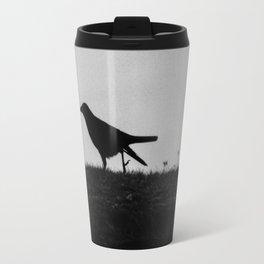 Raven in the Shadows Travel Mug