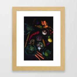 Artichoke Mix Framed Art Print