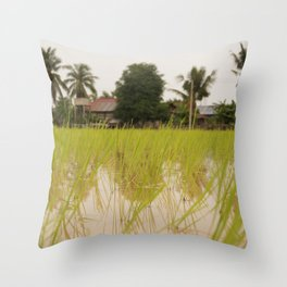 In the Paddies Throw Pillow