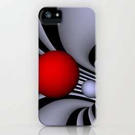 opart tunnel .2. iPhone Case
